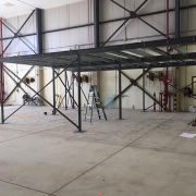 Mezzanine Floor Part Built