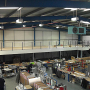Mezzanine Floor above workspace Liverpool