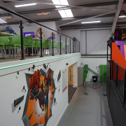 Mezzanine Floor with Canteen Above Swinton