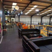 Mezzanine Floor with Glass Balustrade Bolton