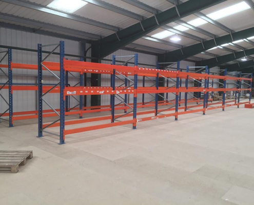 Pallet Racking on a Mezzanine Floor