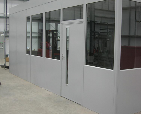 Double Skin Office Partitioning Liverpool