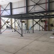 Mezzanine Floor Part Built