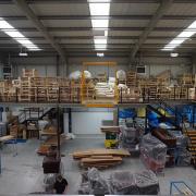 Mezzanine Floor for Storage Burnley
