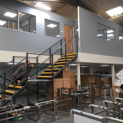 Mezzanine Floor with Office Above Huyton