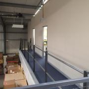 Mezzanine Floor with Office Stockport