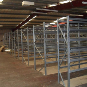 Two tier Shelving